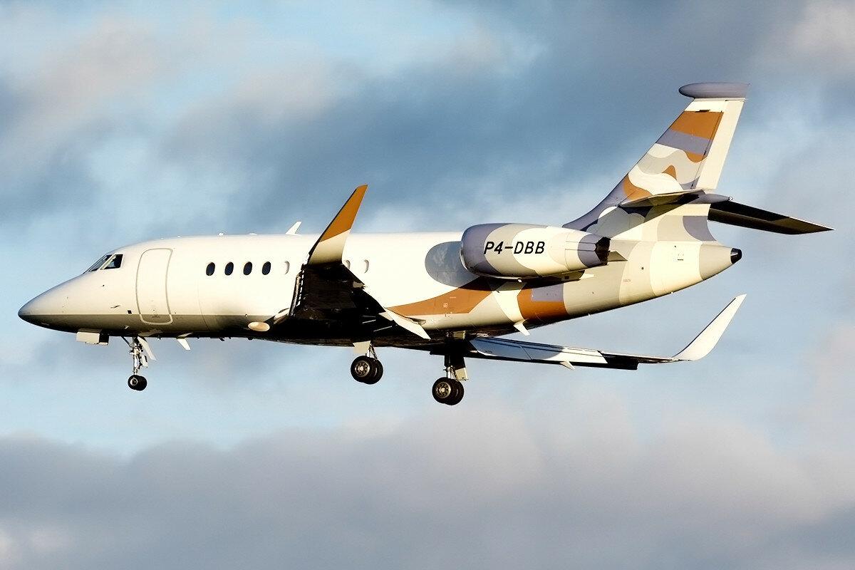 Dassault Falcon 2000EX. Hyperion Aviation. P4-DBB.