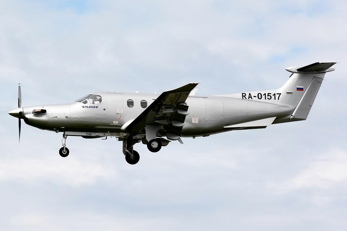 Pilatus PC-12/47E. Private. RA-01517.