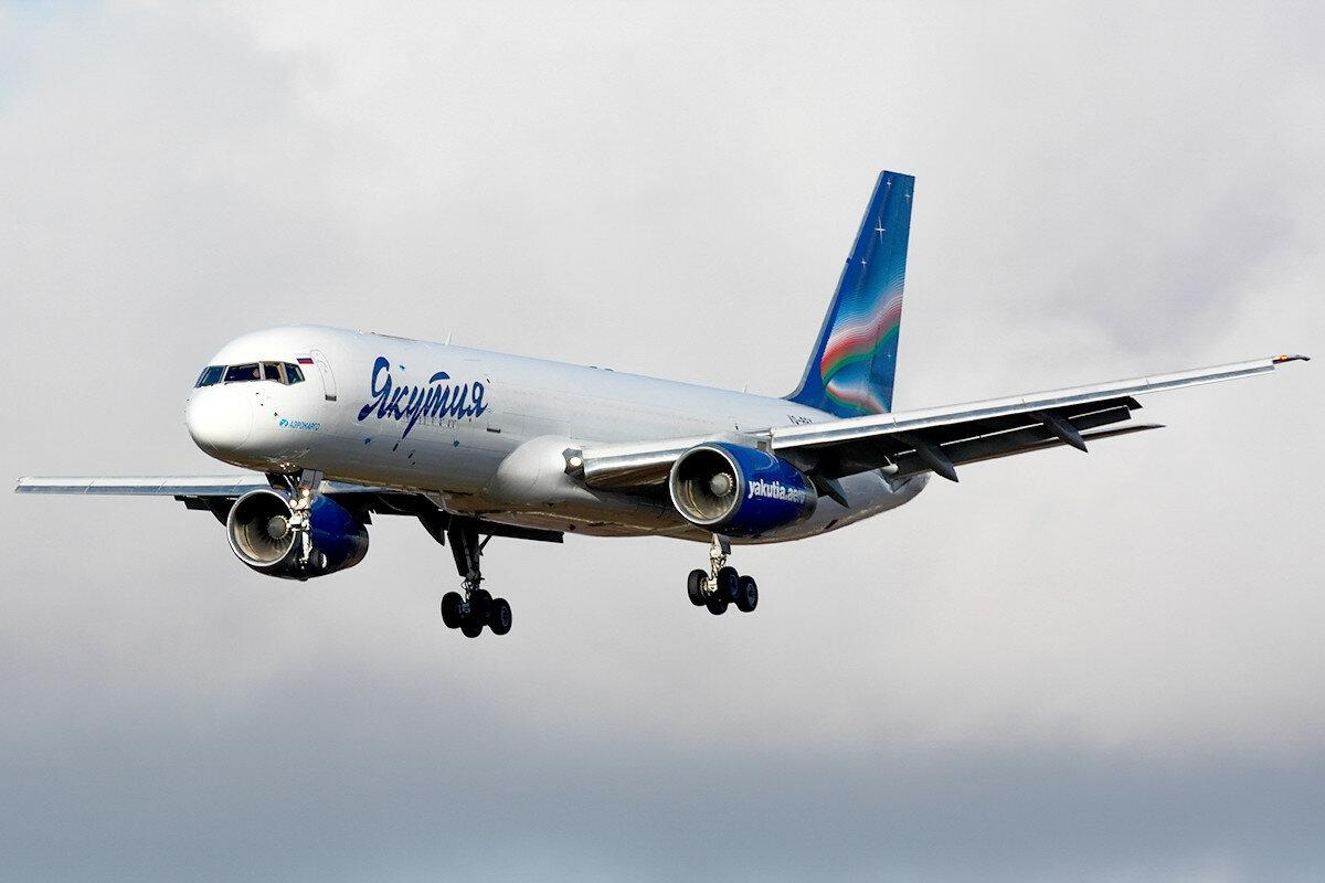 Boeing 757-236(SF). Yakutia Airlines. VQ-BPY.
