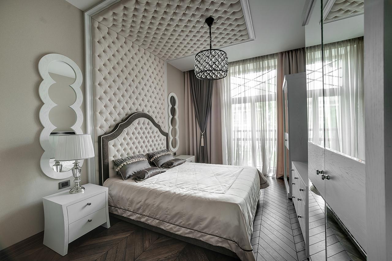 фото интерьеров. спальная и холл