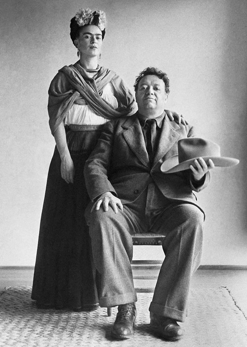 Фрида Кало и Диего Ривера фото