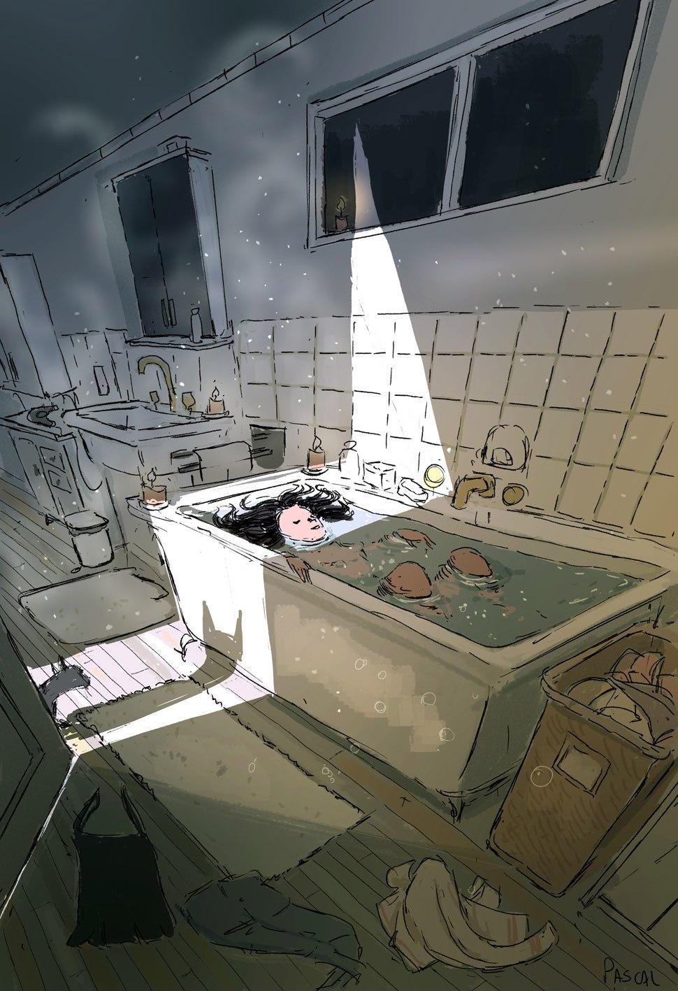 Позитивные рисунки Паскаля Кэмпиона