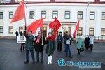 kingisepp.ru Парад в честь столетия революции в Кингисеппе, ноябрь 2017