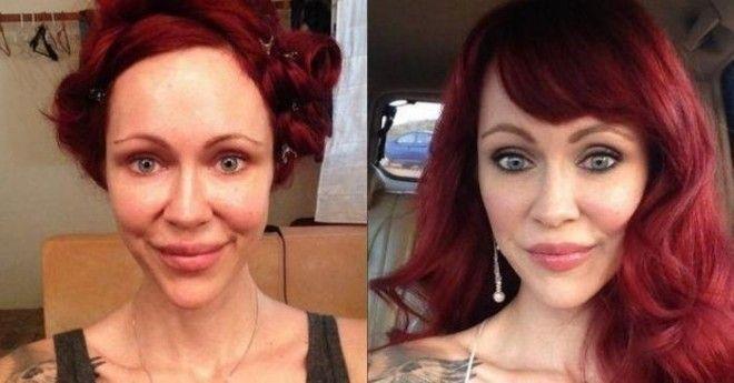 Клиенты девушки – это модели, «зайчики» Playboy и актрисы фильмов для взрослых. Макияж, который нано