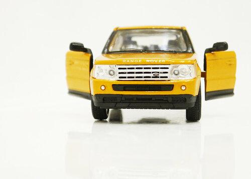 Машинка Кинсмарт Range Rover