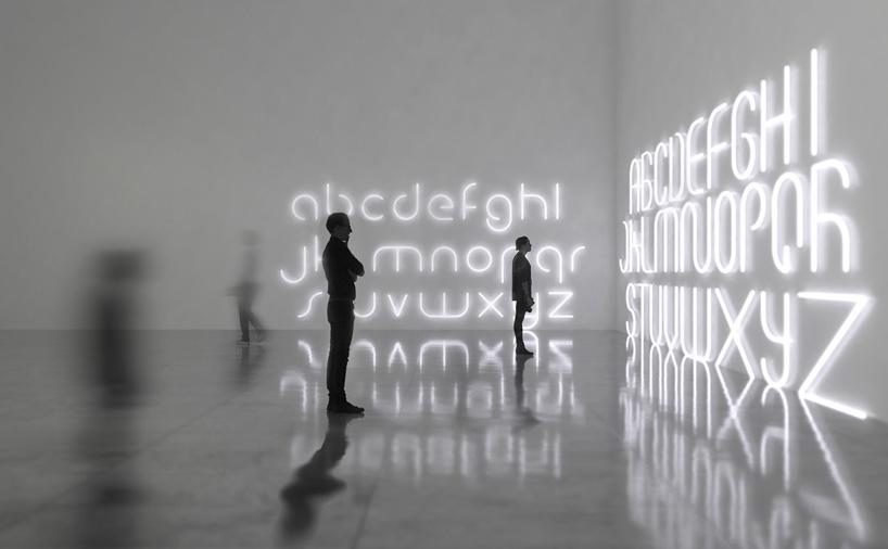 Alphabet of light / BIG
