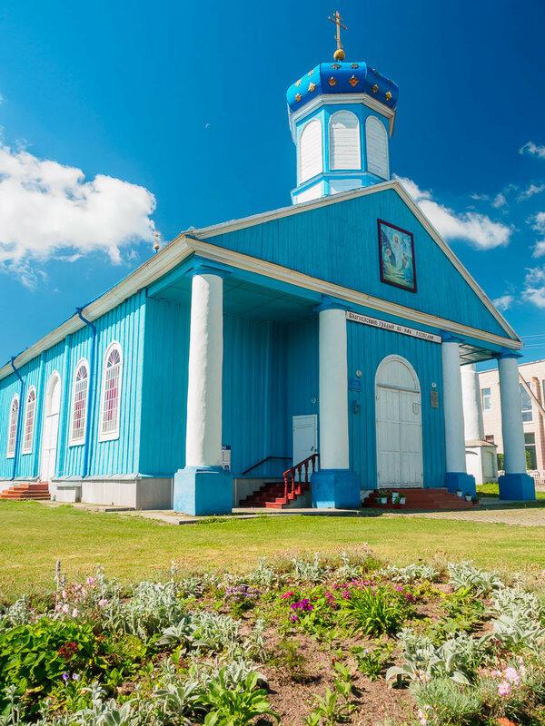 Воскресенская церковь в Антополе, 1854 г.