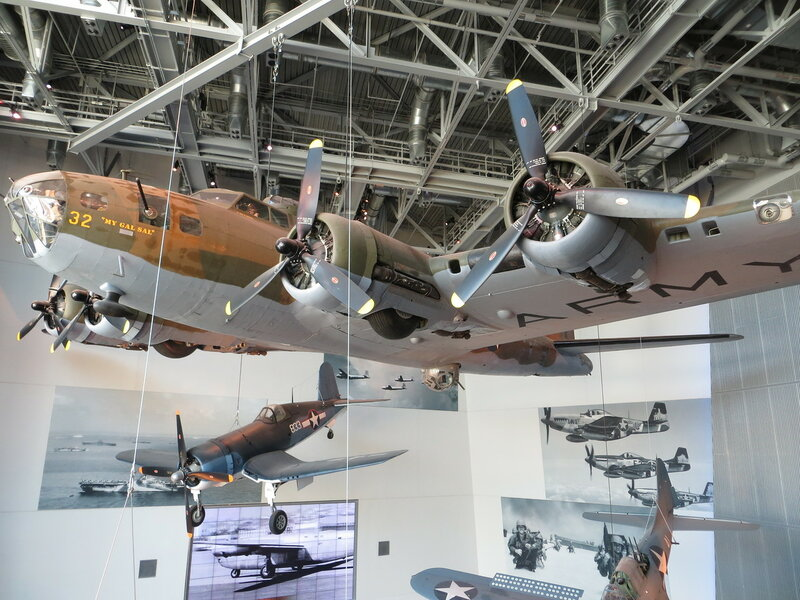 New Orleans, Louisiana-National WWII Museum (B17E Flying Fortress-My Gal Sal)