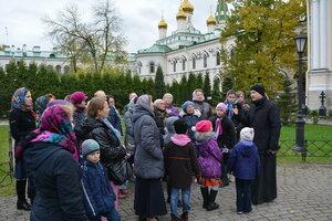 Юные прихожане посетили Новодевичий монастырь