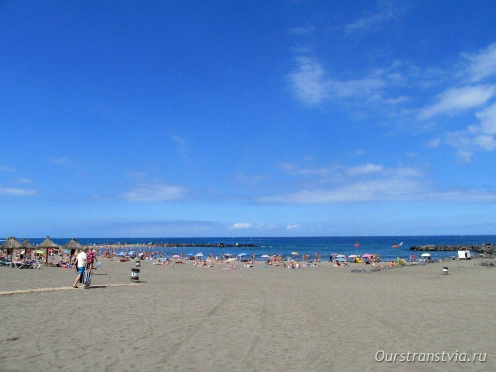 Пляж Троя, Тенерифе