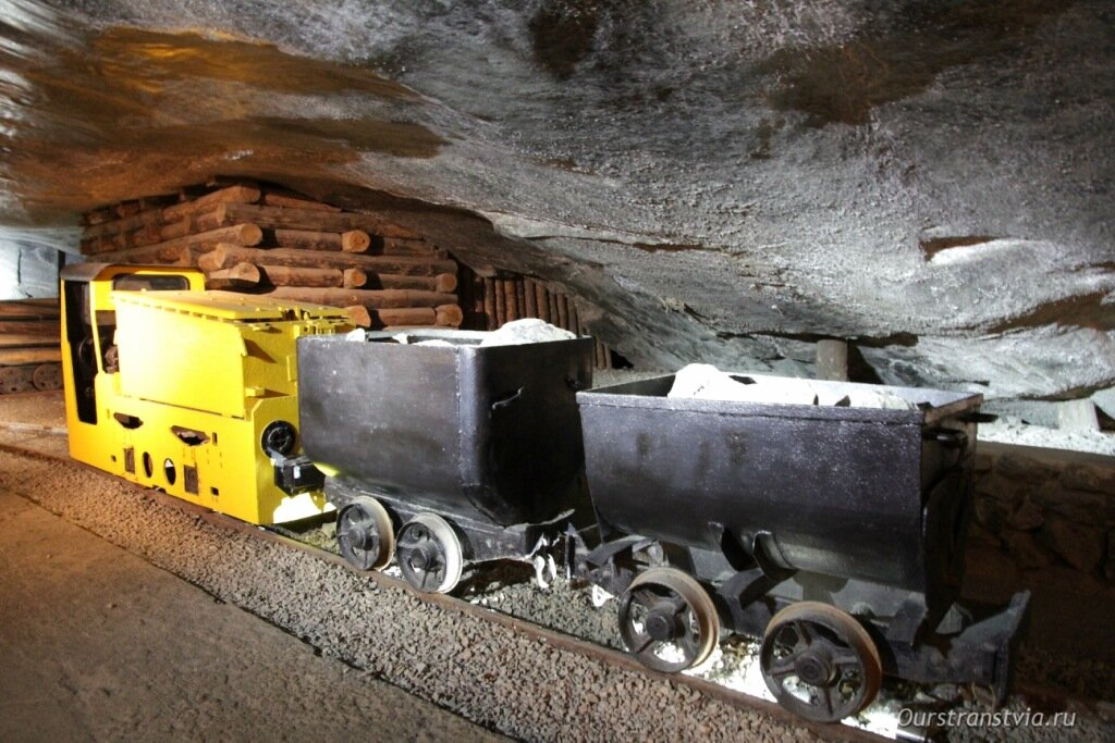 Соляная шахта в Величке, Польша