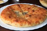 Осетинский пирог с мясом.