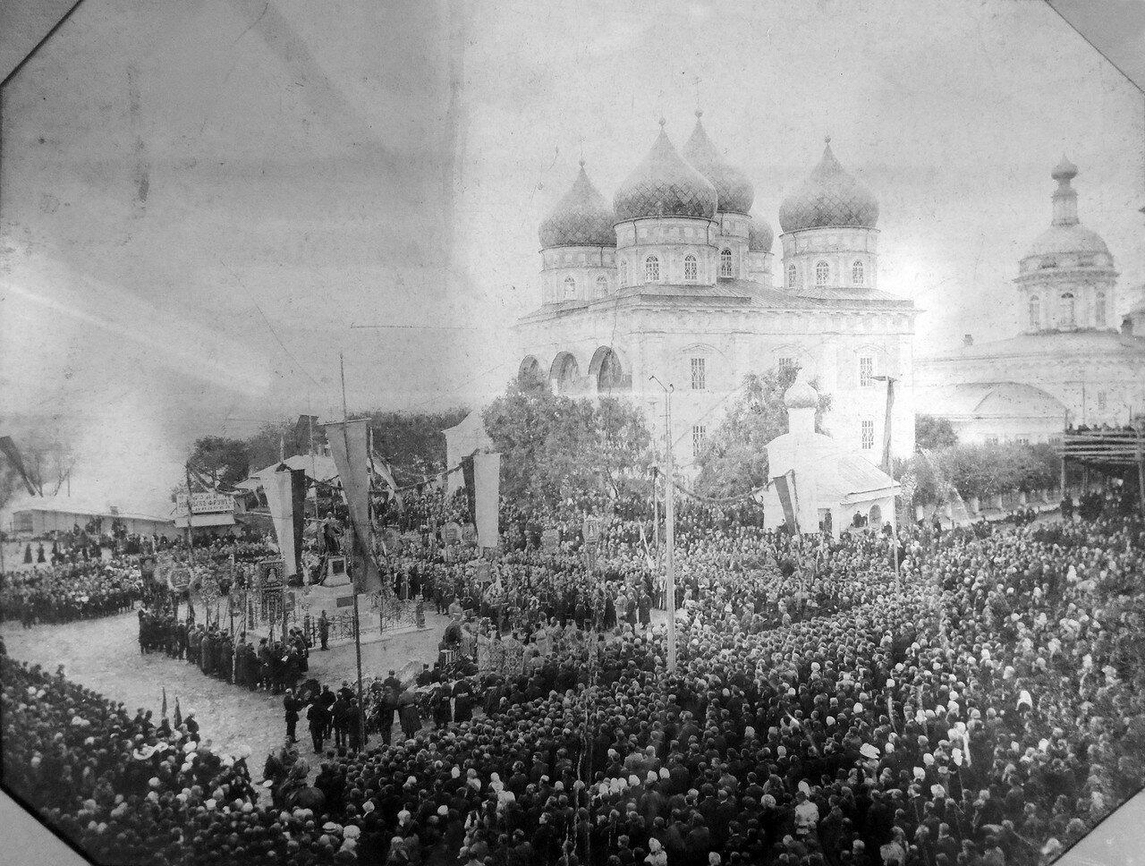 Открытие памятника императору Александру II Освободителю. 1912