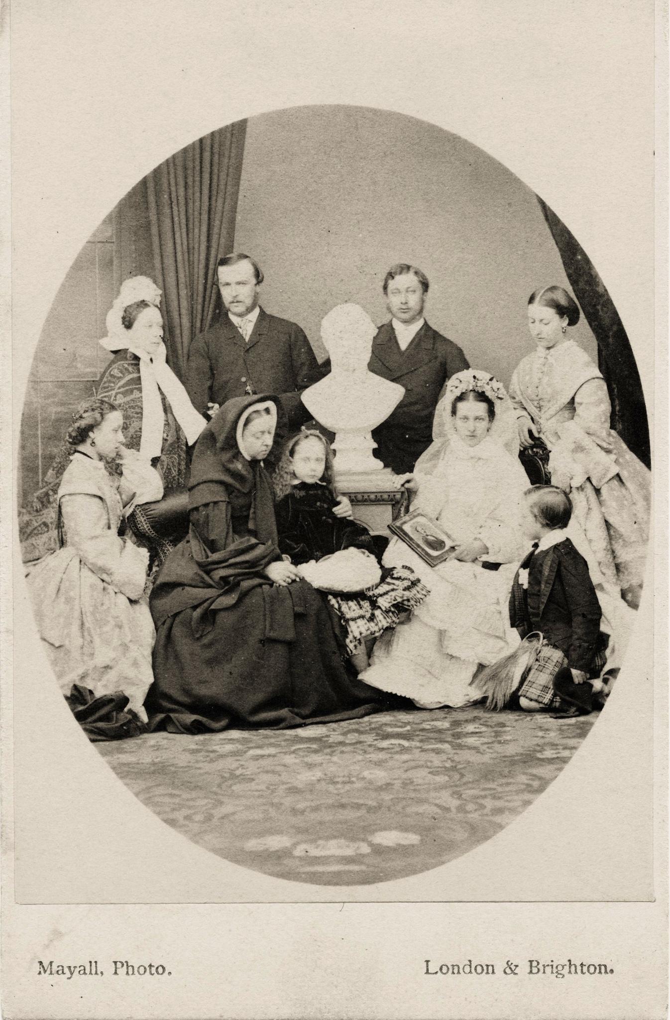 1863. Британская королевская семья