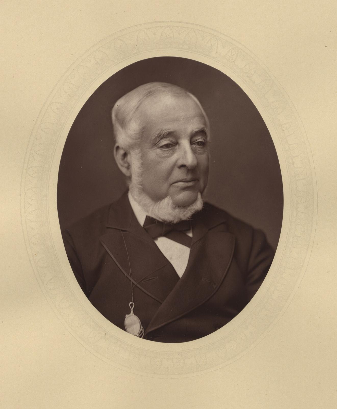 1881. Уоррен де ла Рю (британский астроном, член-корреспондент Петербургской академии наук)