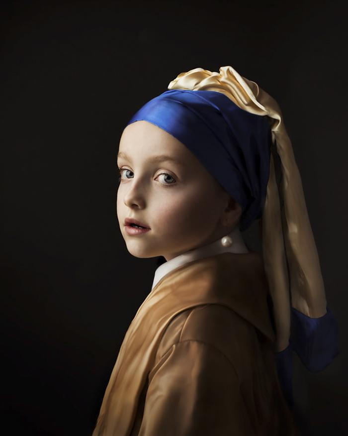 Фото голландского художника выглядят как классические картины