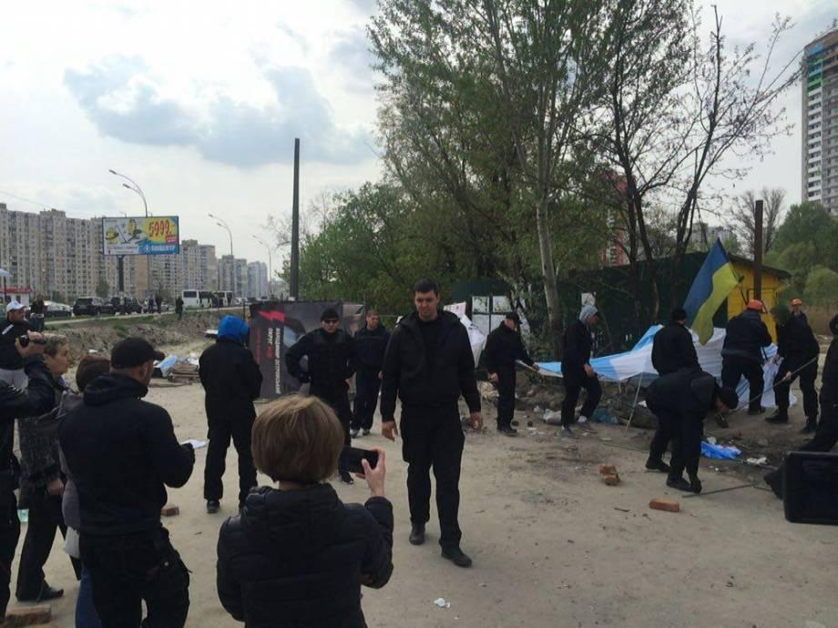 Во время конфликта на детской площадке в Киеве ранена женщина, - Нацполиция