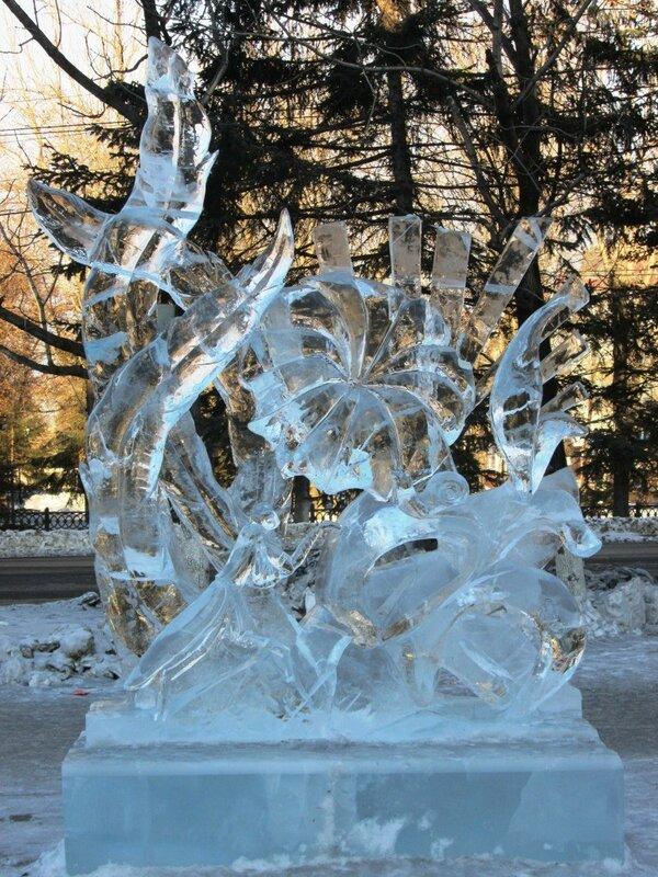 дк. ледяные скульптуры. 17 г.