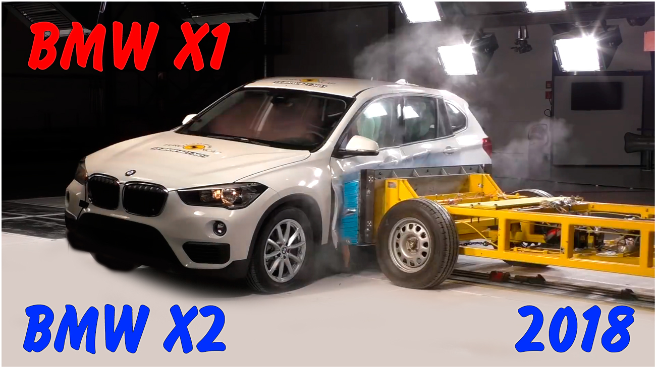 Краш тест BMW X1(X2) 2018