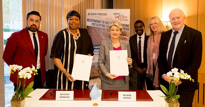 Международный уголовный суд и ЮНЕСКО укрепляют сотрудничество в области охраны культурного наследия