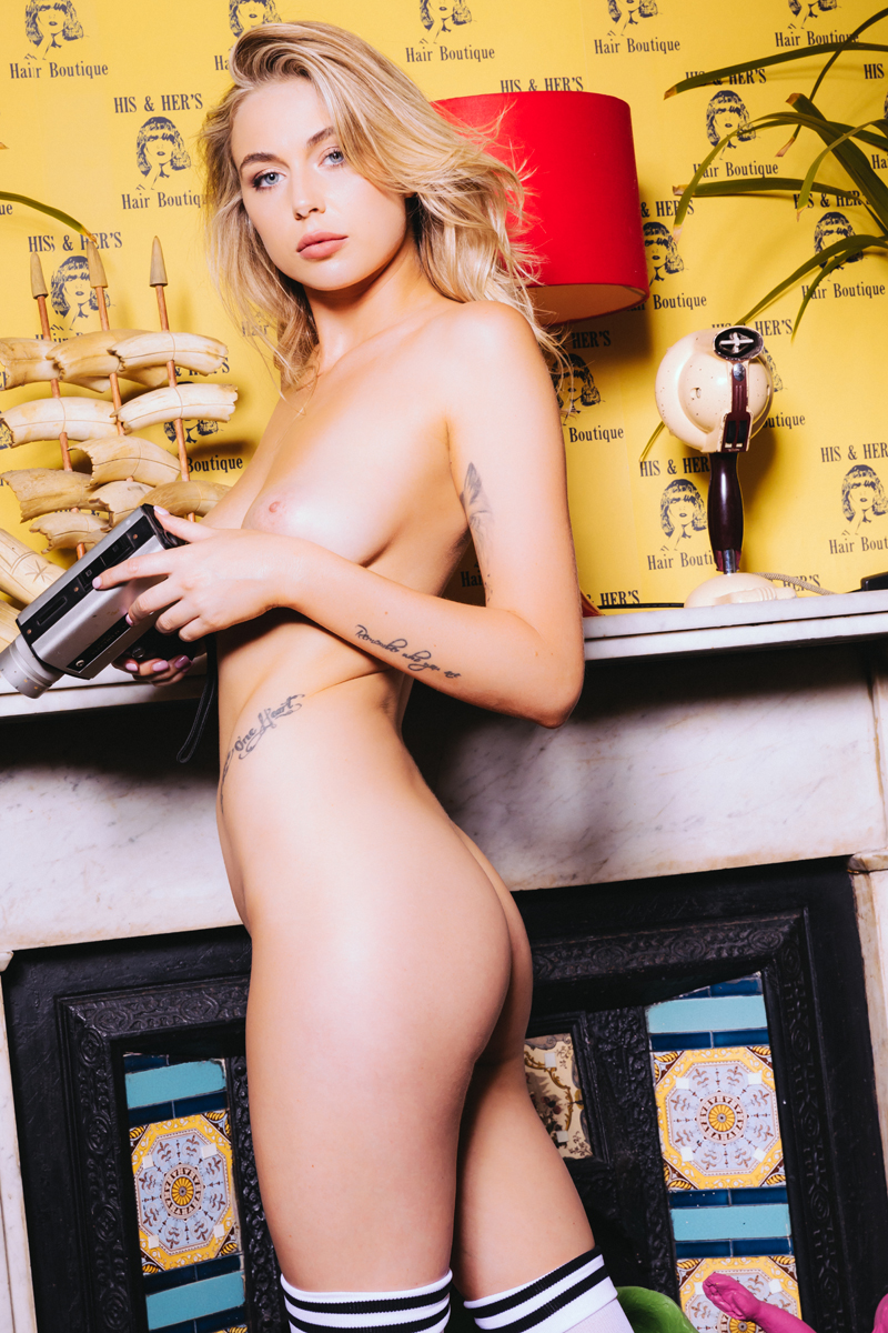 Paige Evans nude by Paul McMahon