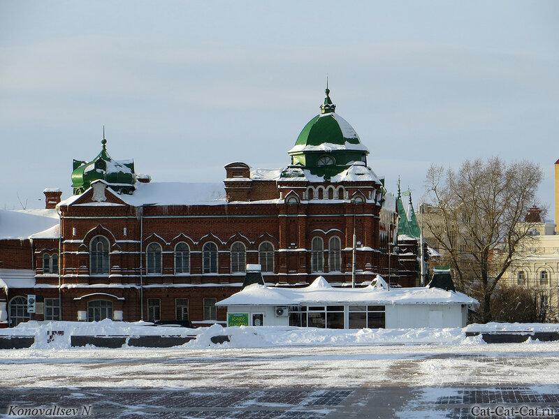 Дом офицеров, Ульяновск, зима 2018