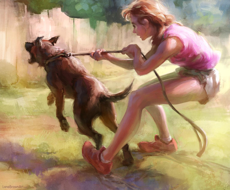 Цифровая живопись Лэйна Брауна (14 фото)