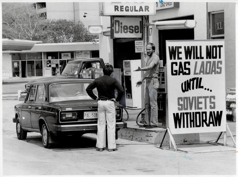 В 1979 году, оценив успех продаж советских автомобилей в Канаде, продавать