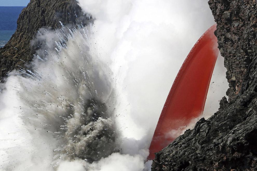 14. Большая часть вулкана Килауэа входит в состав национального парка «Хавайи-Волкейнос». (Фото Hawa