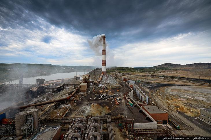 Это еще одно предприятие —  «Кыштымский медеэлектролитный завод»  находится в городе