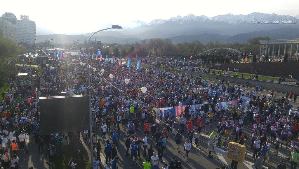 Алматы марафон 2017.