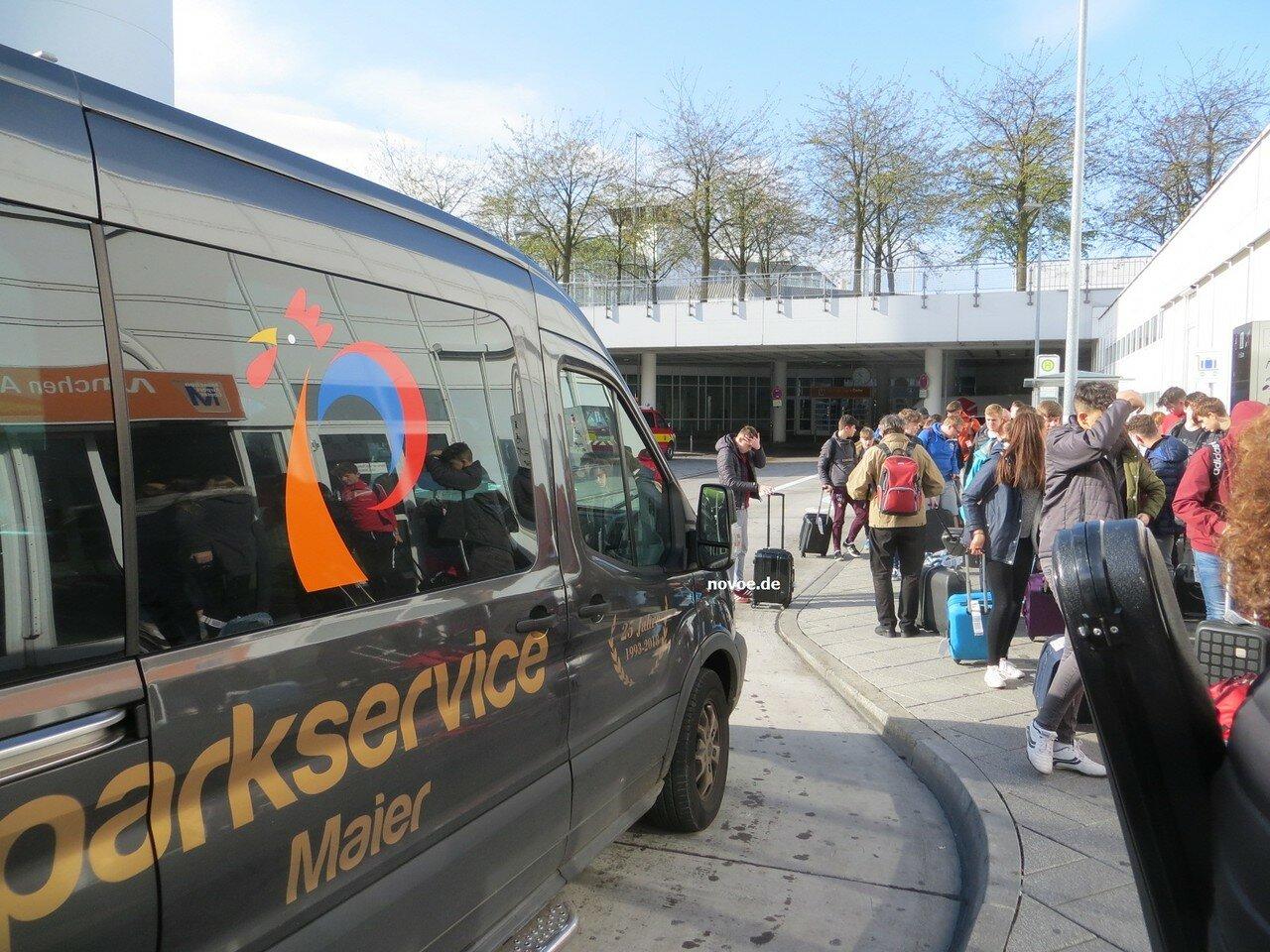 Аэропорт Мюнхена. Парковка на частной стоянке. Собственный опыт