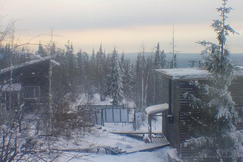 Веселая гора, январь 2018 года