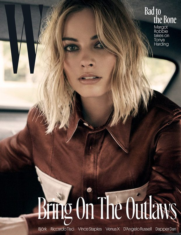 Margot Robbie is the Cover Star of W Magazine November 2017 Issue (9 pics)