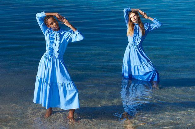 Karly Loyce & Sophie Rask Model Stella McCartney SS18 Collection (4 pics)
