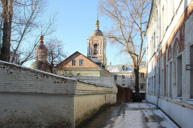 Церковь Николы в Подкопаях и палаты 17 века