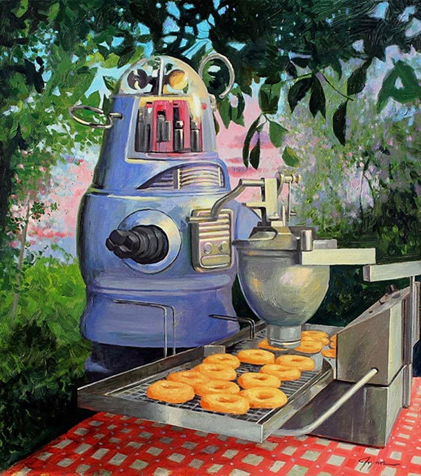 Retro Robots and Donuts - Eric Joyner