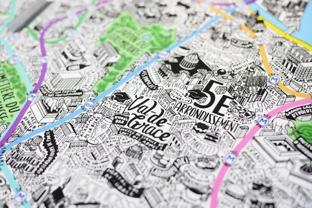 Paris Mapped in Style