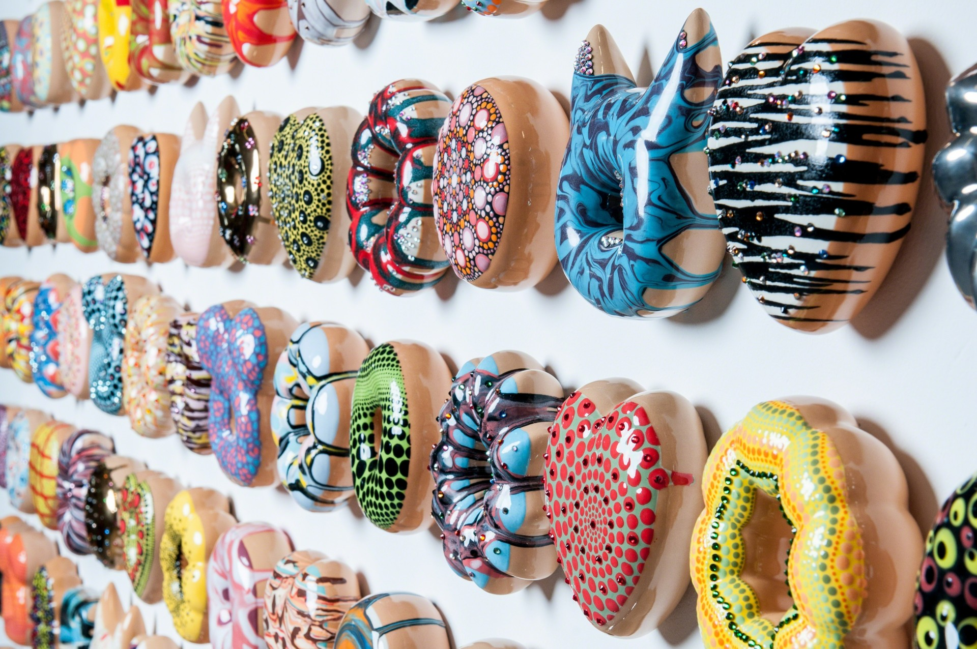 Pop Culture Inspired Ceramic Donuts
