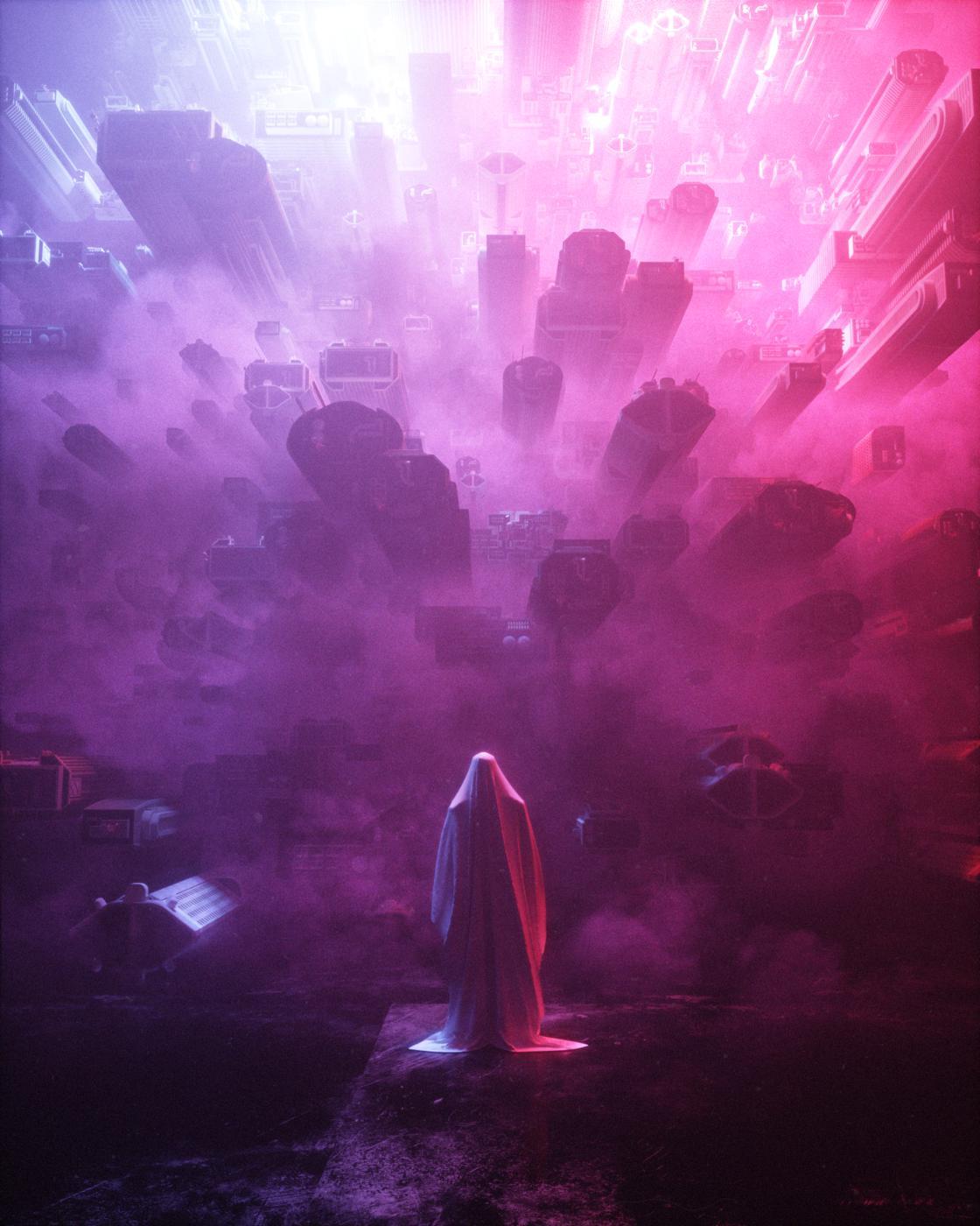 Dark Future – Les illustrations sombres et futuristes de Stuart Lippincott