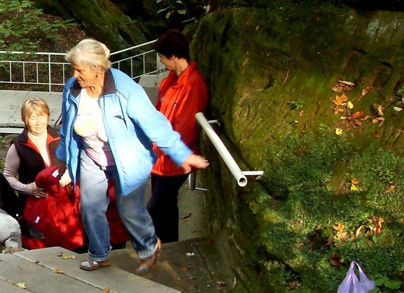 Нина Левада, октябрь 2009, Горячий Ключ и его окрестности, поездка на КСП (7).JPG