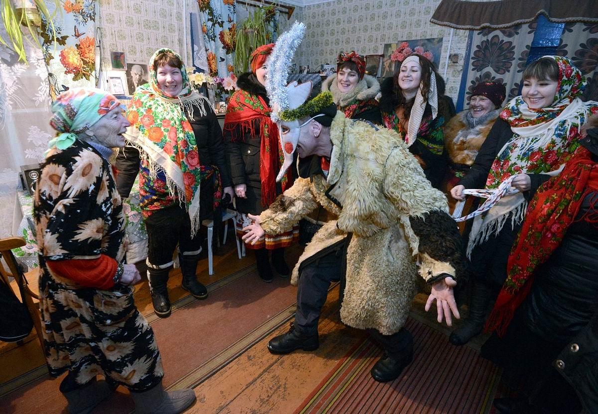 Забодай тебя комар: Славянские традиции празднования Старого Нового Года