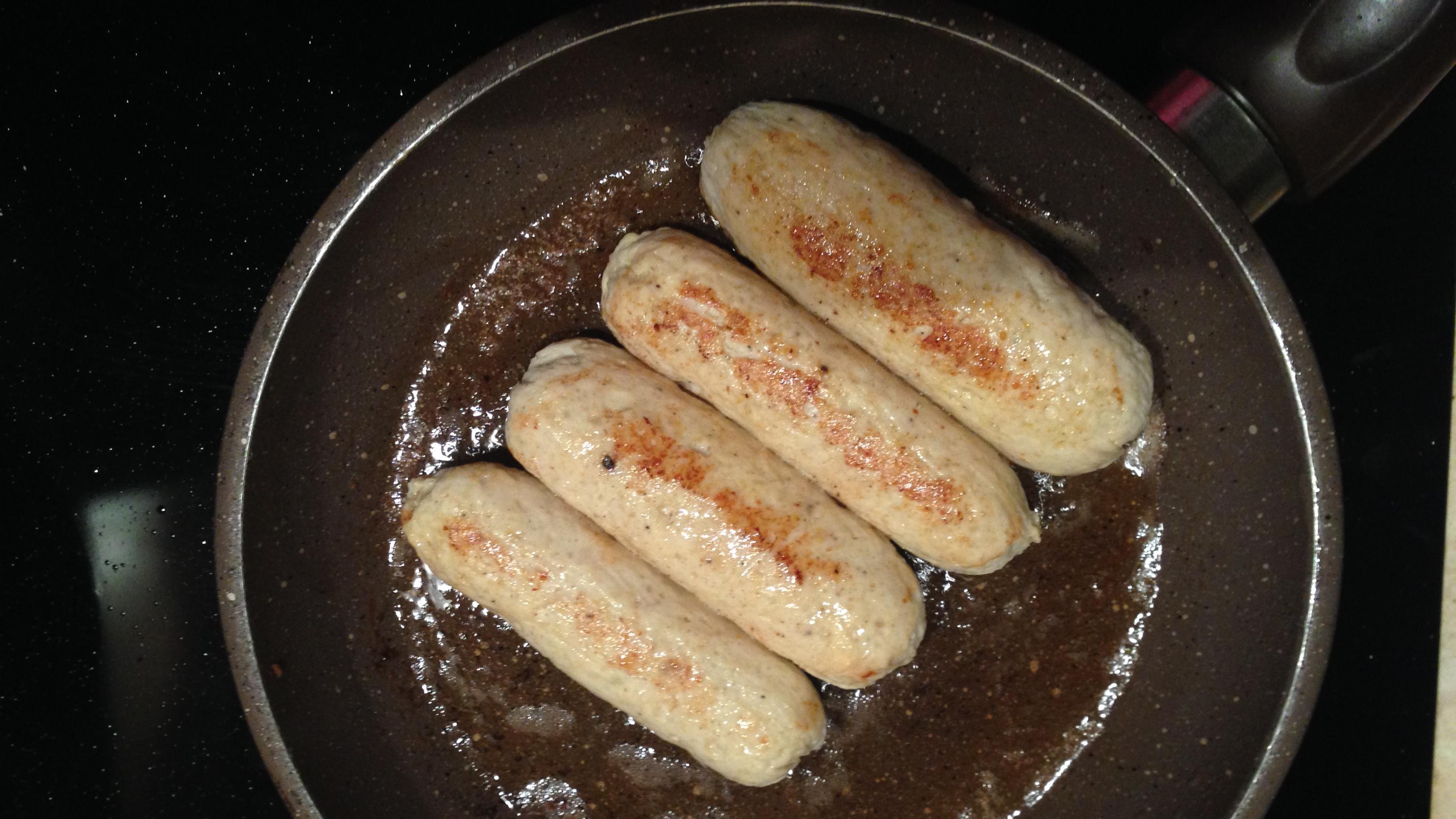 Домашние куриные колбаски для Великана