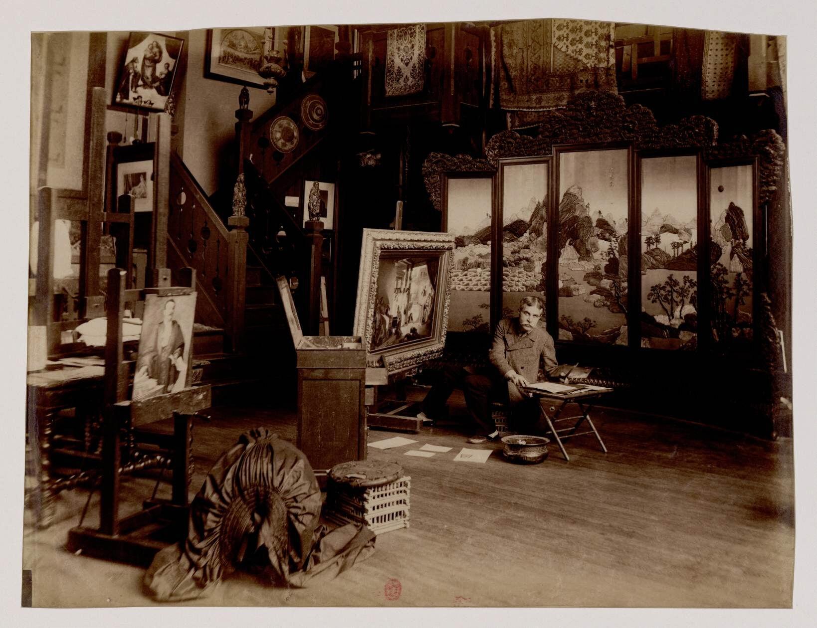 Жан-Жюль-Антуан Леконт дю Ноуи (1842 - 1923) - востоковед, французский живописец