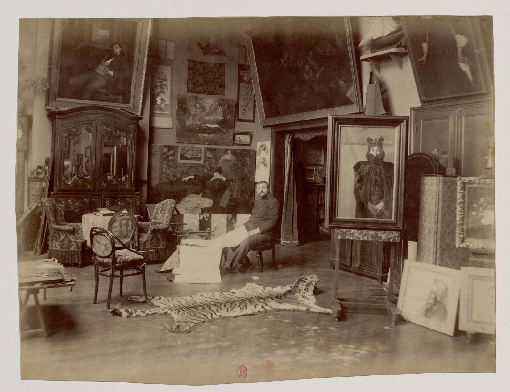 Эрнст Анж Дуез (1843-1896) - французский живописец