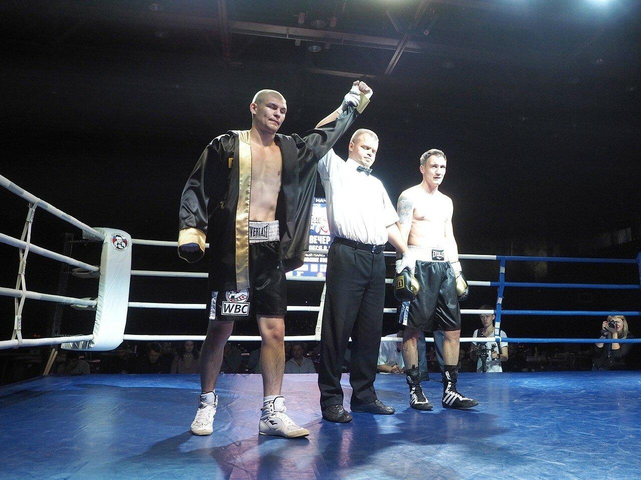 96 Вечер профессионального бокса в Магнитогорске 06.07.2017