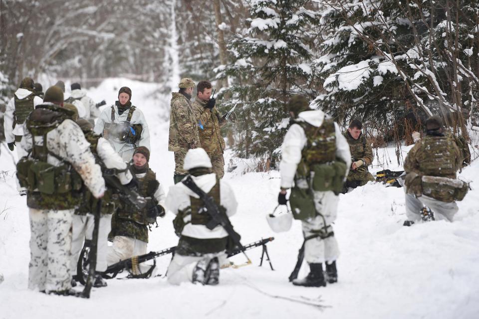 Британские войска прибыли в Эстонию, чтобы отразить нападение российской армии