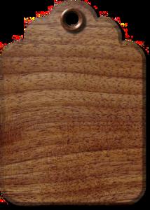 деревянные бирки