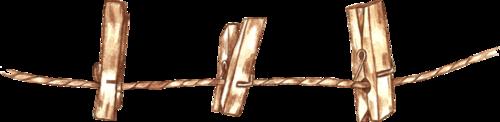 прищепки и веревки