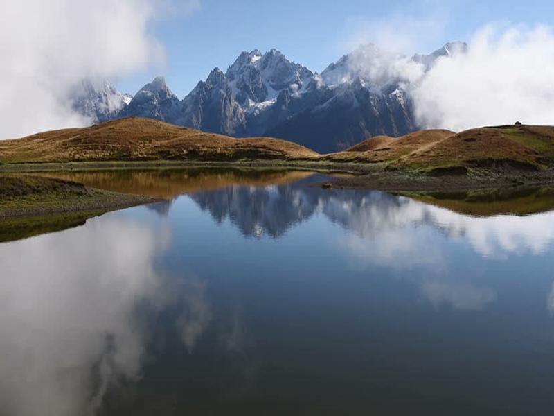 Озера Корульди в Грузии